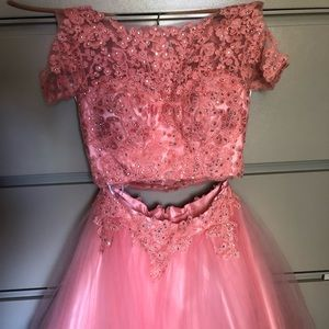 Dresses & Skirts - Prom dress  two piece Taylor made size small